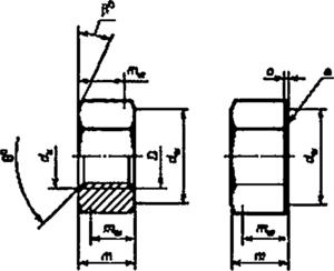 Гайка ГОСТ ISO 4032-2014 шестигранная 2